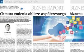 Chmura zmienia oblicze współczesnego biznesu